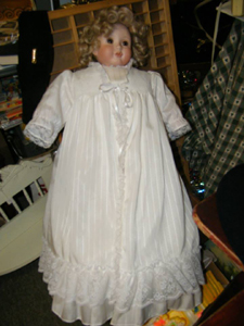 Doll collectors will be delighted at the Flea Market at the Crossing, Plainville, CT 06062